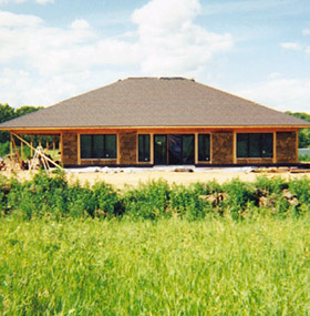 Strawbale Farms Constructed Home