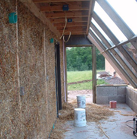 Strawbale Farms Home Insulation