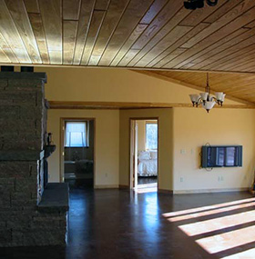 Strawbale Farms Interior Solar