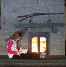 Strawbale Farms Masonry Heater Reading