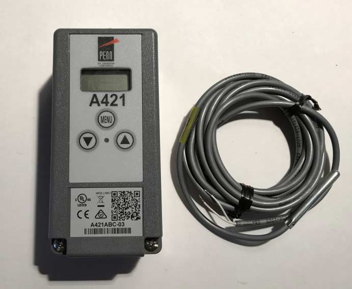 Strawbale Farms Johnson Controls Mechanical back up aquastat replacement