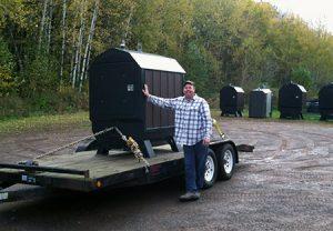 Strawbale Farms Outdoor Wood Boiler Wisconsin