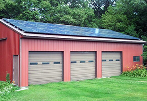 Steel Roof Mounted Solar