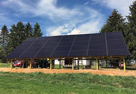 Solar Electric Customer Steve Harrik