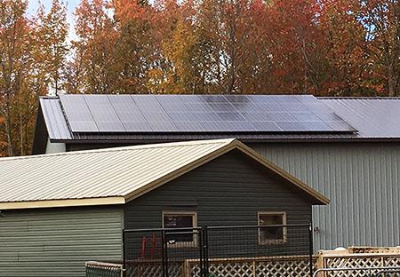 Connie & Randy Vand Solar Electric