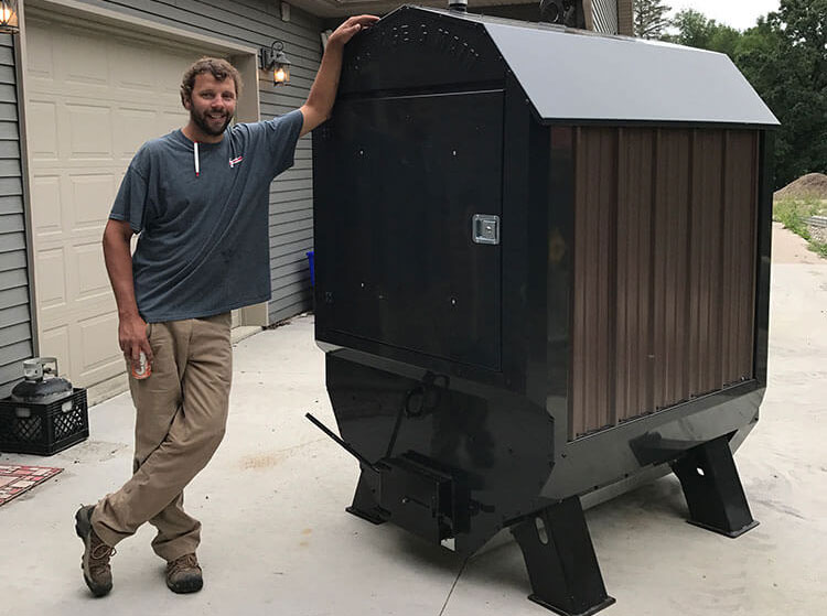 Minnesota Outdoor Wood Boiler