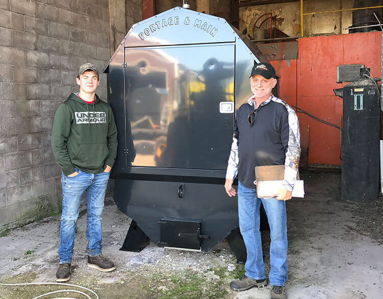 BL 4044 Portage & Main Boiler