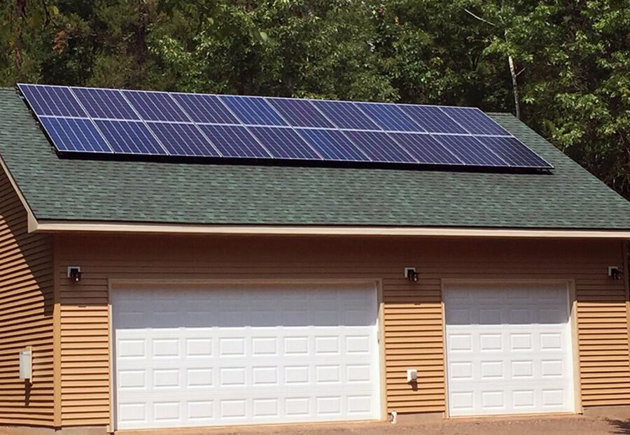 solar electricity eau claire